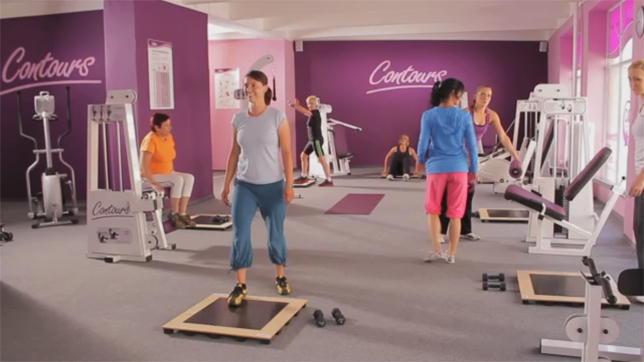 Cvičení s trenérkou Contours