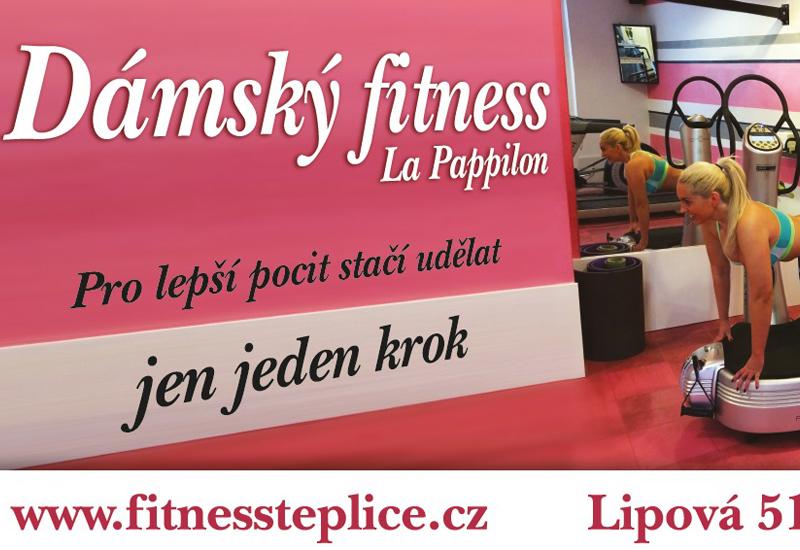 Dámský fitness La Pappilon Teplice